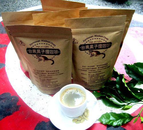 果子狸咖啡(豆) 半磅/227g##(生技技術製程)